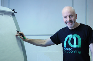 Malcolm Veall, LLA, ACA, Xero Certified Chartered Accountant & Director of Naked Accounting